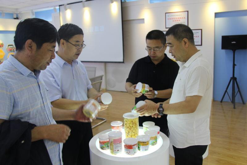 市商务局王奎局长一行莅临集团检查指导 新闻资讯 第3张