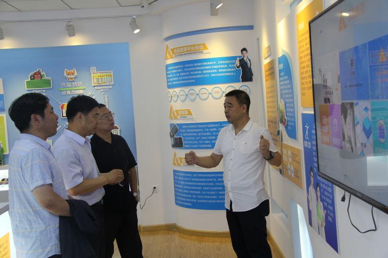 市商务局王奎局长一行莅临集团检查指导 新闻资讯 第5张