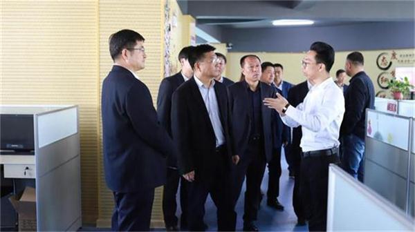 辽阳市副市长到双创孵化基地指导调研 新闻资讯 第2张