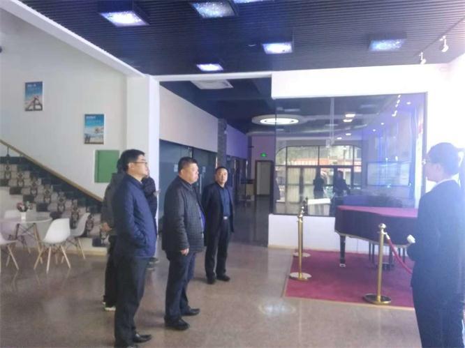 航天信息有限公司各领导莅临辽宁声谷参观指导