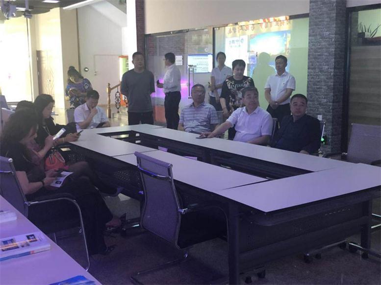 白塔区区政协各领导莅临辽宁声谷创业孵化基地调研指导 新闻资讯 第2张