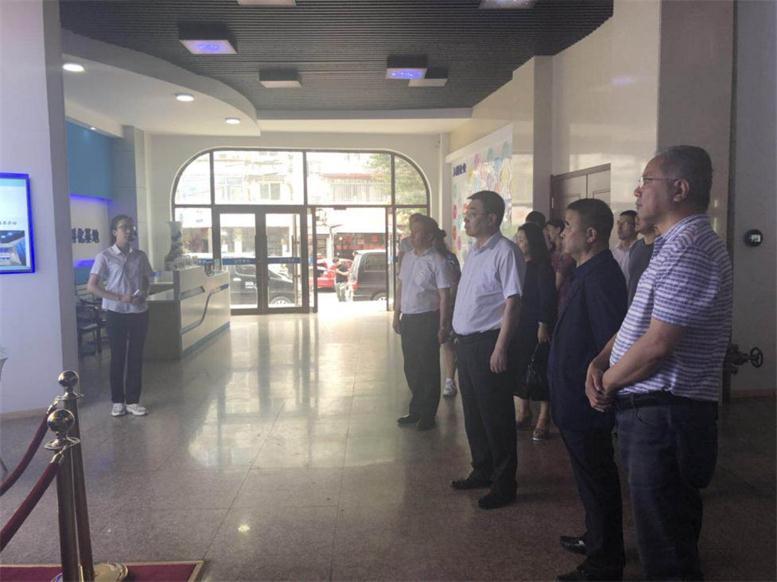白塔区区政协各领导莅临辽宁声谷创业孵化基地调研指导