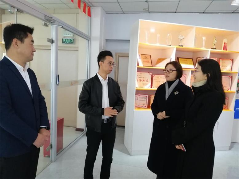 辽阳市妇联主席郑高峰莅临辽联信息考察调研