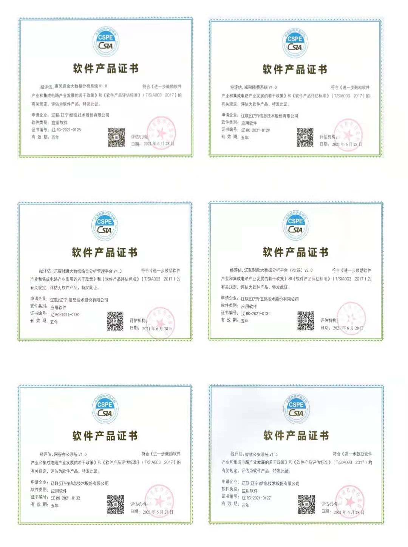 """辽联信息荣获""""双软企业""""认证 新闻资讯 第3张"""